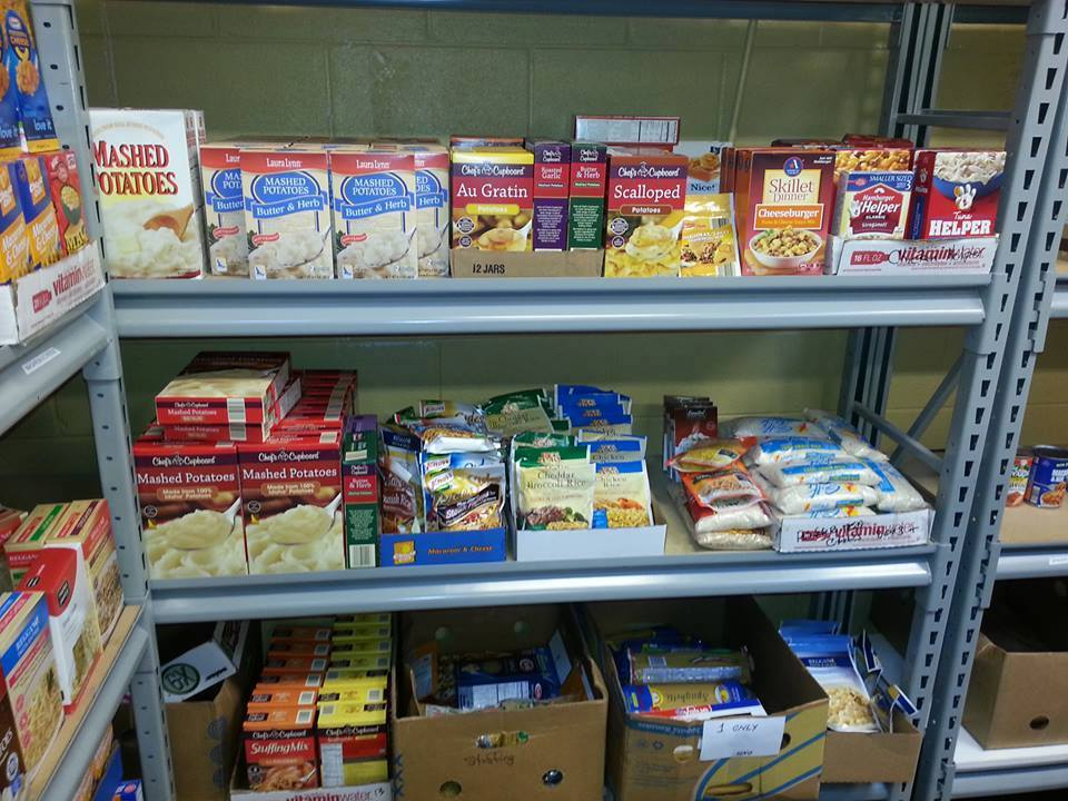 Food Pantry Shelves