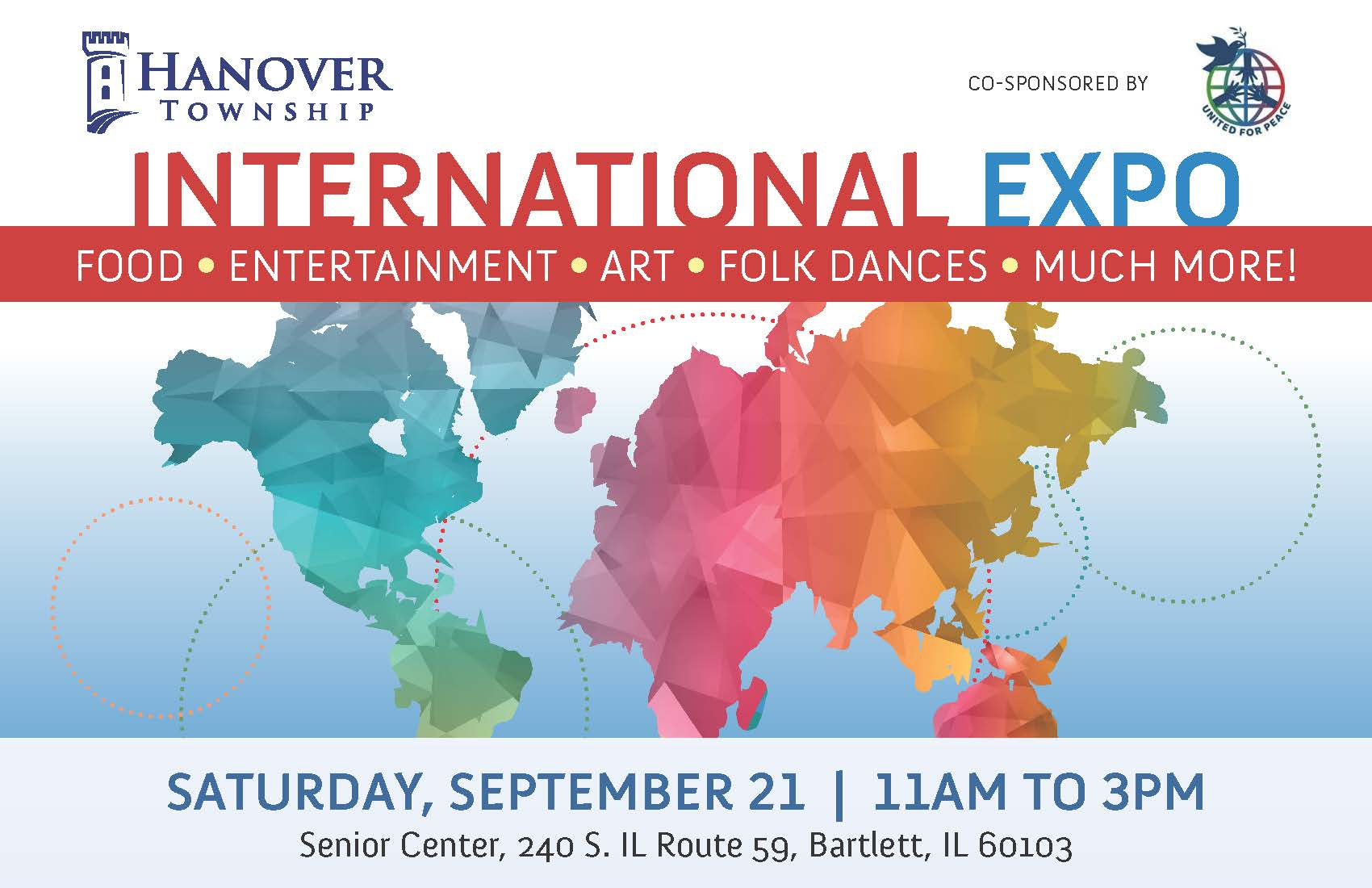 International Expo Flyer- 12 Ad